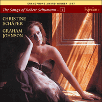 Cover of CDJ33101 - Schumann: The Complete Songs, Vol. 1 � Christine Sch�fer