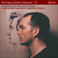 Cover of CDJ33105 - Schumann: The Complete Songs, Vol. 5 � Christopher Maltman