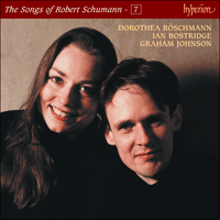 Cover of CDJ33107 - Schumann: The Complete Songs, Vol. 7 � Dorothea R�schmann & Ian Bostridge