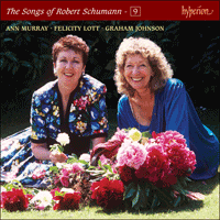 Cover of CDJ33109 - Schumann: The Complete Songs, Vol. 9 � Ann Murray & Felicity Lott