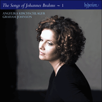 Cover of CDJ33121 - Brahms: The Complete Songs, Vol. 1 � Angelika Kirchschlager