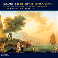 Cover of CDS44001/3 - Mozart: The Six 'Haydn' String Quartets