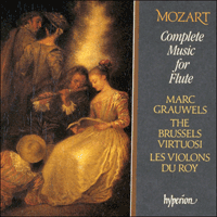 Cover of CDS44011/3 - Mozart: Complete Music for Flute