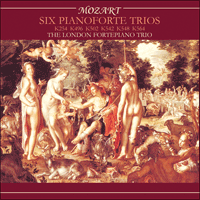 Cover of CDS44021/3 - Mozart: Six Piano Trios