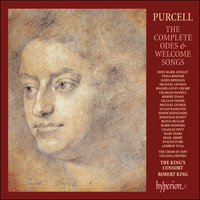 Cover of CDS44031/8 - Purcell: The Complete Odes & Welcome Songs