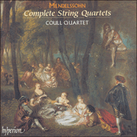 CDS44051/3 - Mendelssohn: The Complete String Quartets