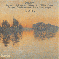 Cover of CDS44061/3 - Debussy: Piano Music