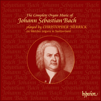 Cover of CDS44121/36 - Bach: The Complete Organ Works