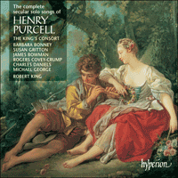 Cover of CDS44161/3 - Purcell: The complete secular solo songs