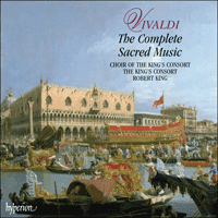 Cover of CDS44171/81 - Vivaldi: The Complete Sacred Music