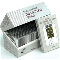 Cover of CDS44201/40 - Schubert: The Complete Songs