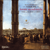 Cover of CDS44241/3 - Veracini: Sonate accademiche