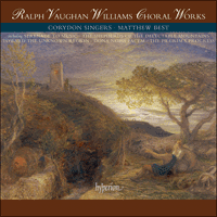 Cover of CDS44321/4 - Vaughan Williams: Choral Works