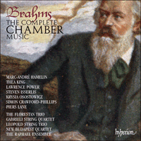 Cover of CDS44331/42 - Brahms: The Complete Chamber Music
