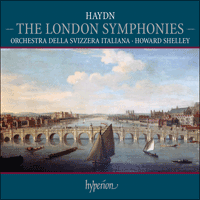 Cover of CDS44371/4 - Haydn: The London Symphonies