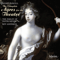 Cover of CDS44381/3 - Purcell: The Complete Ayres for the Theatre
