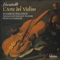 Cover of CDS44391/3 - Locatelli: L'Arte del Violino