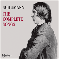 Cover of CDS44441/50 - Schumann: The Complete Songs