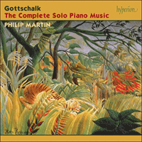 Cover of CDS44451/8 - Gottschalk: The Complete Solo Piano Music