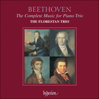 Cover of CDS44471/4 - Beethoven: The Complete Music for Piano Trio