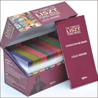 Cover of CDS44501/98 - Liszt: Complete Piano Music