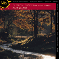 Cover of CDH55002 - Favourite Encores for string quartet