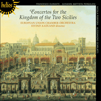 Cover of CDH55005 - Concertos for the Kingdom of the Two Sicilies