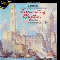 Cover of CDH55006 - Gershwin: Fascinating Rhythm � The complete music for solo piano