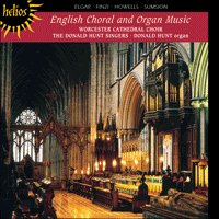 Cover of CDH55009 - English Choral & Organ Music