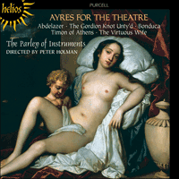 Cover of CDH55010 - Purcell: Ayres for the theatre