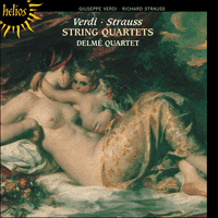 Cover of CDH55012 - Verdi & Strauss: String Quartets