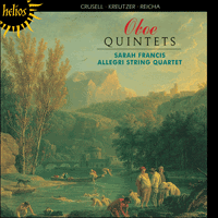 Cover of CDH55015 - Oboe Quintets