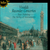 Cover of CDH55016 - Vivaldi: Recorder Concertos