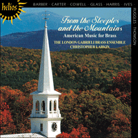 Cover of CDH55018 - From the Steeples & Mountains