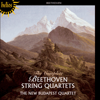 Cover of CDH55021/8 - Beethoven: String Quartets