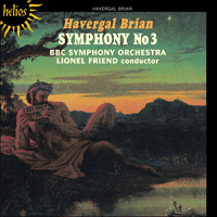 Cover of CDH55029 - Brian: Symphony No 3