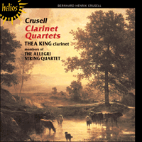 CDH55031 - Crusell: Clarinet Quartets