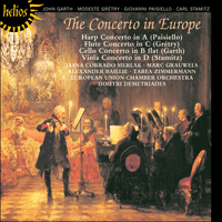 Cover of CDH55035 - The Concerto in Europe