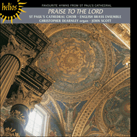 Cover of CDH55036 - Praise to the Lord