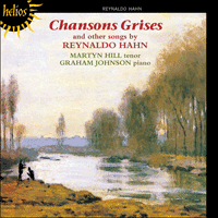 Cover of CDH55040 - Hahn: Chansons grises & other songs