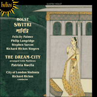 Cover of CDH55042 - Holst: Savitri