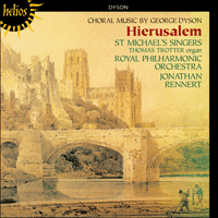 Cover of CDH55046 - Dyson: Hierusalem & other choral works