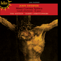 Cover of CDH55051 - Taverner: Missa Corona spinea & other sacred music