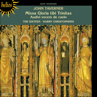 Cover of CDH55052 - Taverner: Missa Gloria tibi Trinitas & other sacred music
