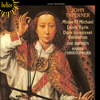 Cover of CDH55054 - Taverner: Missa O Michael & other sacred music