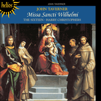 Cover of CDH55055 - Taverner: Missa Sancti Wilhelmi & other sacred music