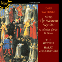 Cover of CDH55056 - Taverner: Western Wynde Mass & other sacred music