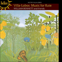 Cover of CDH55057 - Villa-Lobos: Music for flute