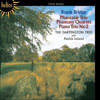 Cover of CDH55063 - Bridge: Piano Trios & Phantasy Quartet