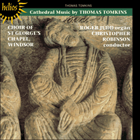 Cover of CDH55066 - Tomkins: Cathedral Music